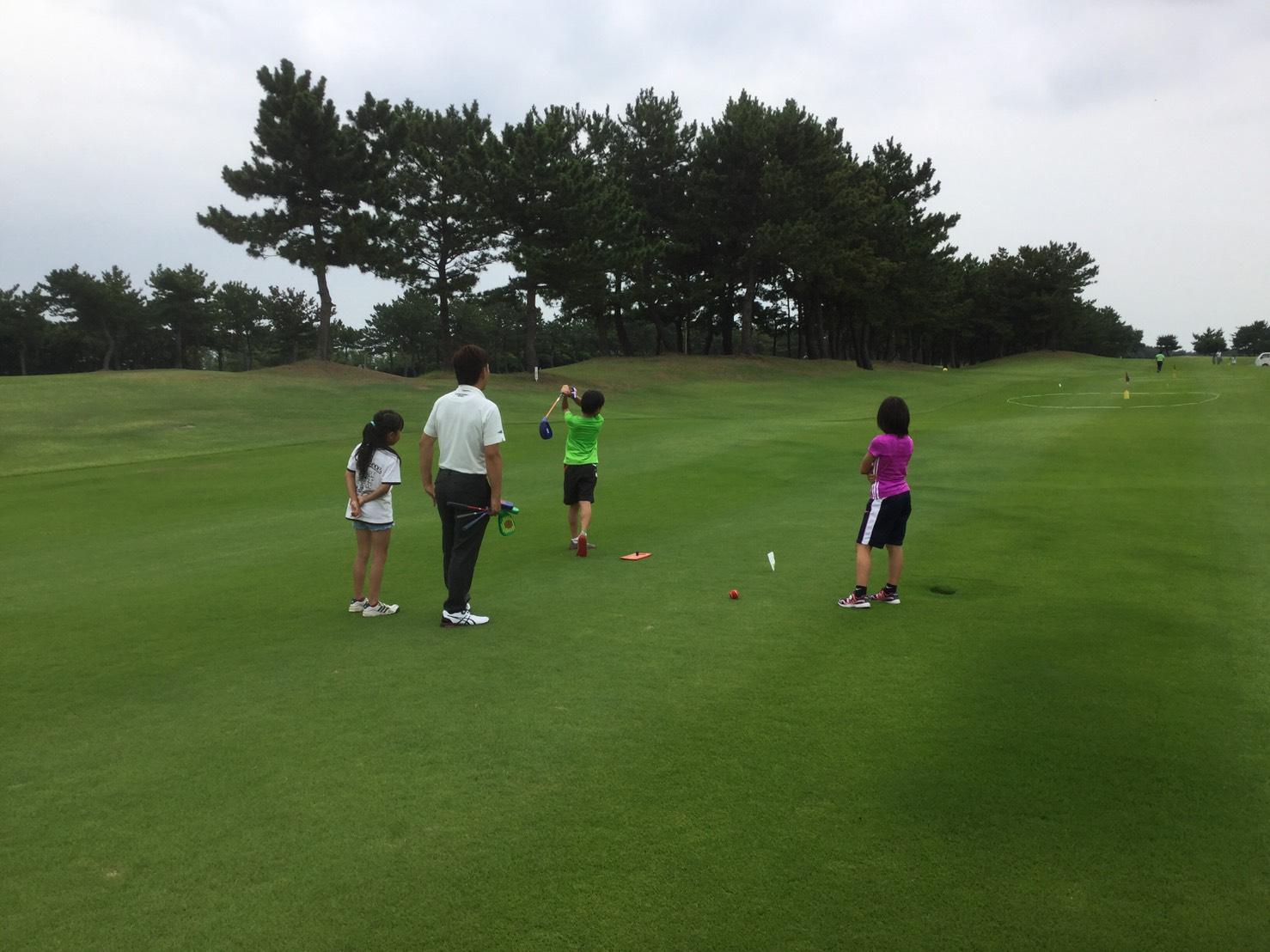 第5回 若洲ゴルフリンクス ゴルフ場一般開放デーにお手伝いに行ってきました!