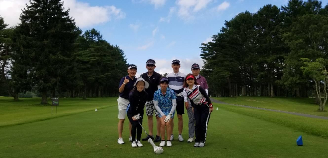 〈ご報告!〉軽井沢ゴルフ合宿開催!