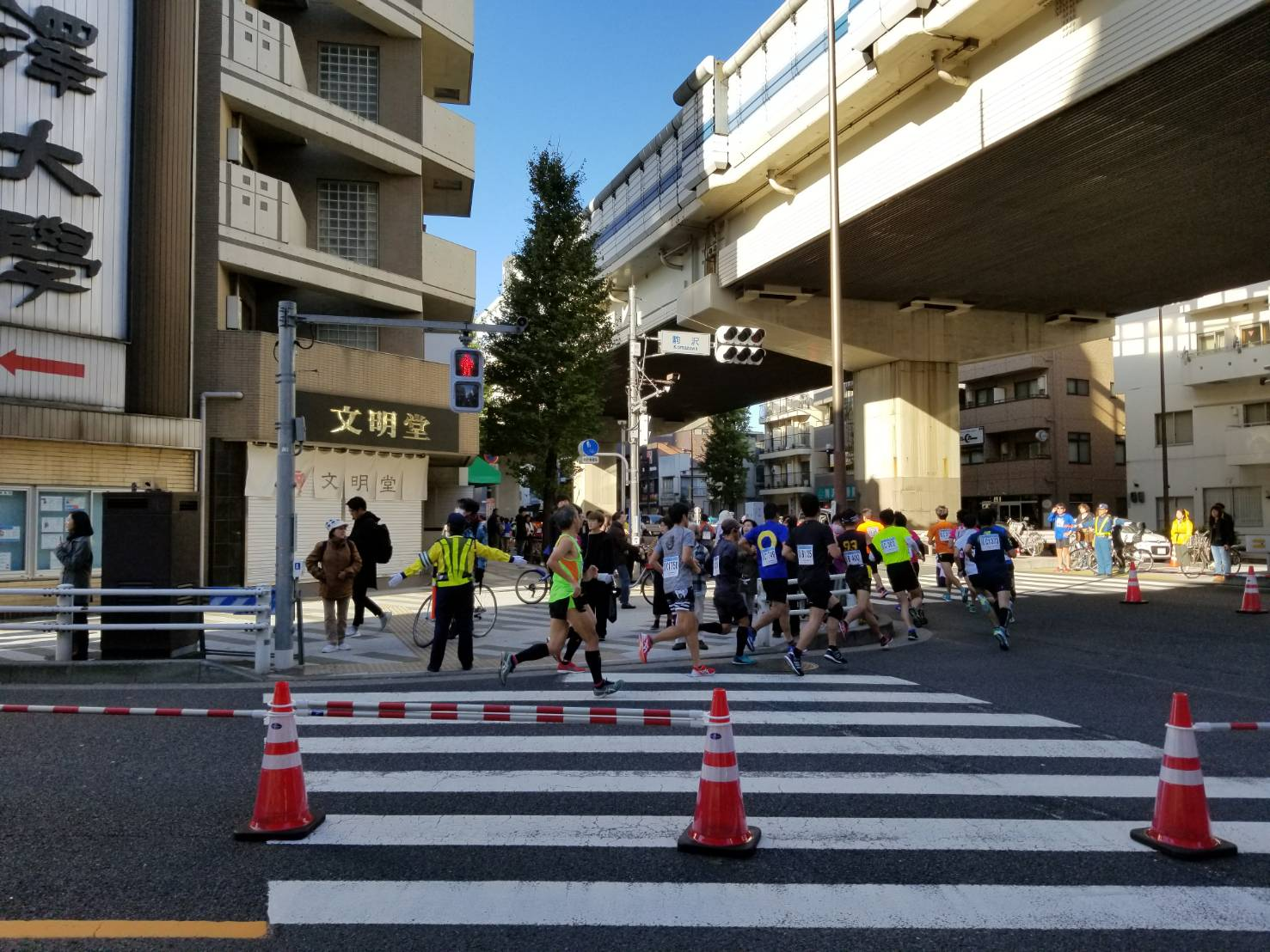 今日は駒沢にランナーが大集合!